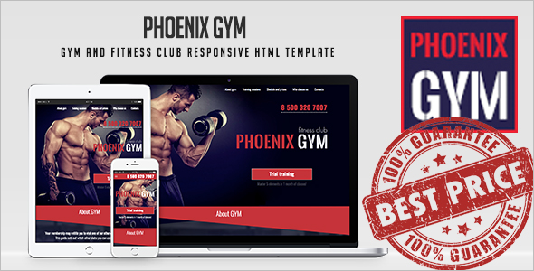 Fitness HTML Template