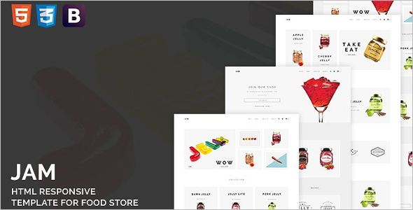 Food HTML Template