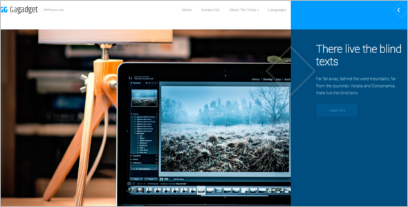 Free Gadget WordPress Theme
