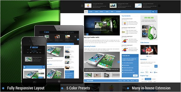 Fully News Portal Joomla Template