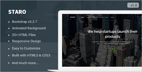 Fully Page Responsive Landing Template