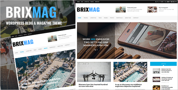 Fully Responsive Blog Template