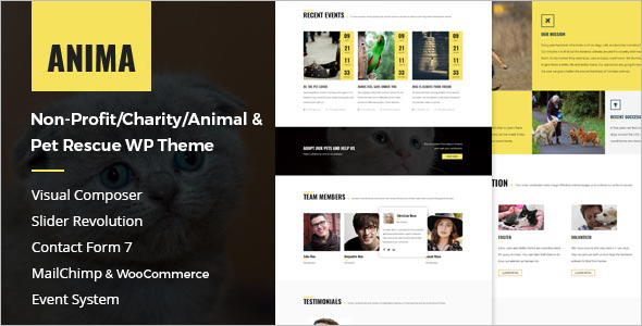 Fundraising Event WordPress Theme