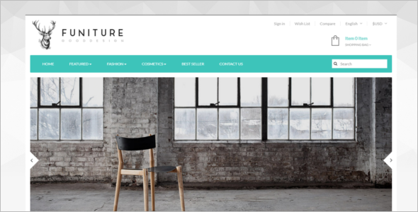Funiture Prestashop Template
