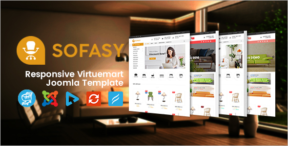 Furniture Store Virtuemart Template