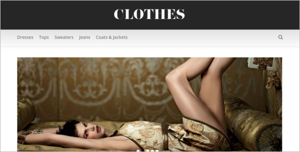 HTML Apparel Fashion Website Template