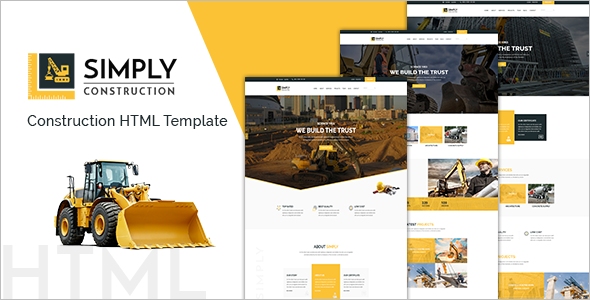 HTML Business Website Template