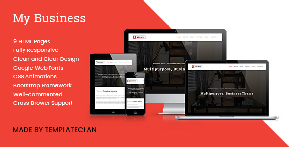 HTML Corporate Bootstrap Template