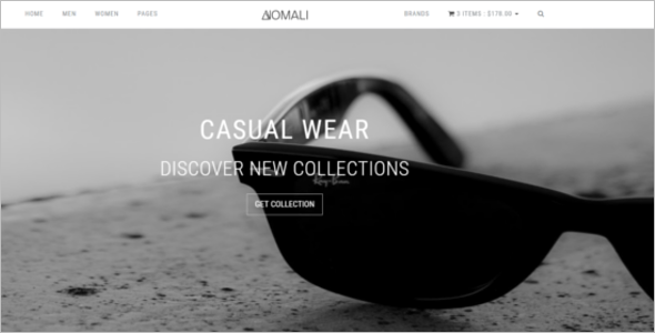 HTML E-Commerce Website Template