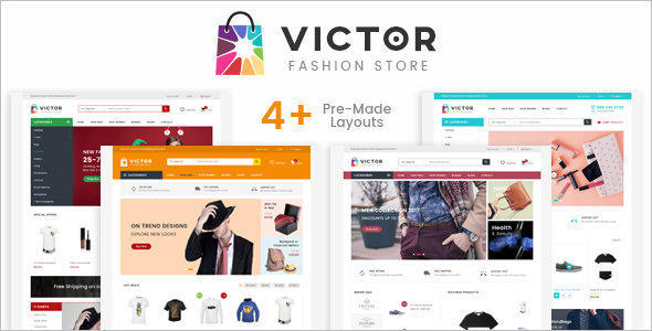 HTML Fashion E-commerce Website Template