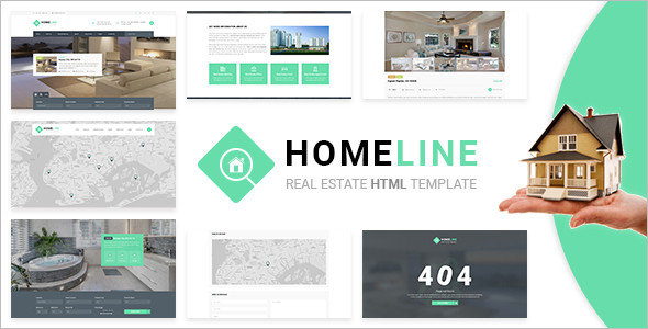 HTML Real Estate Template