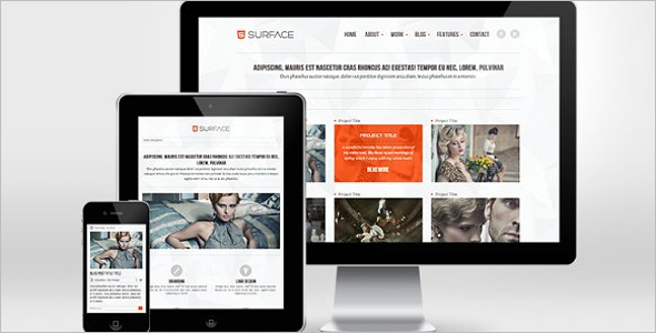 HTML Responsive Website Template