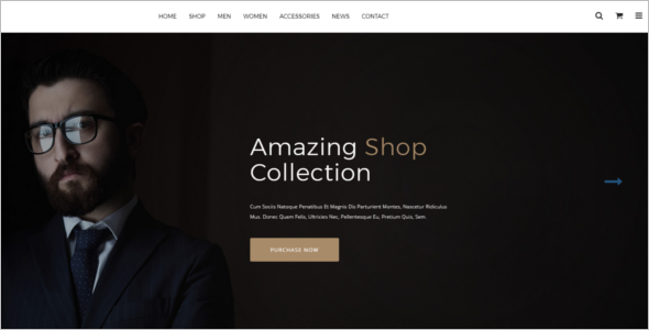 HTML Shopping Cart Template
