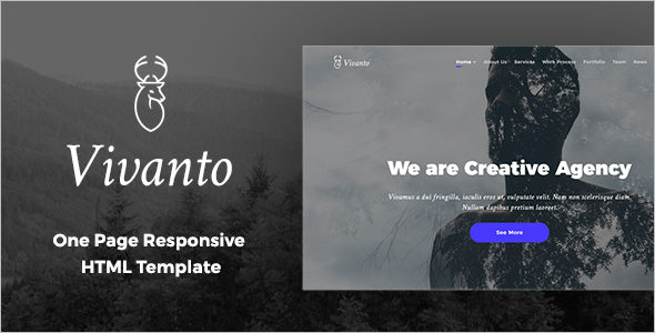 HTML5 & CSS3 Website Template