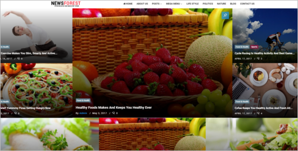 Health Blog Responsive Theme
