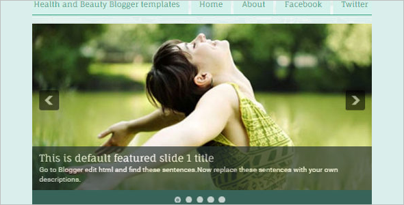 Health Blog Template