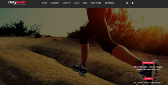 Health Blog Theme
