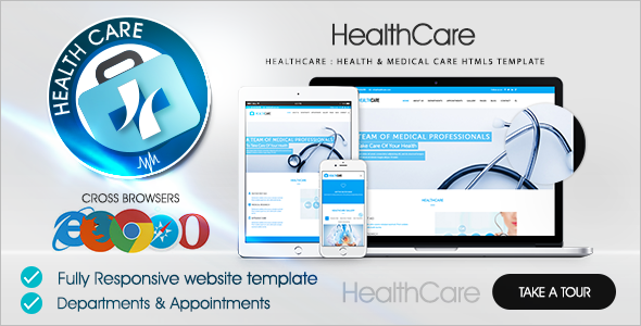 Health Care Bootstrap Theme