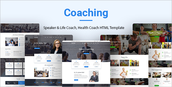Health Coaching HTML Template
