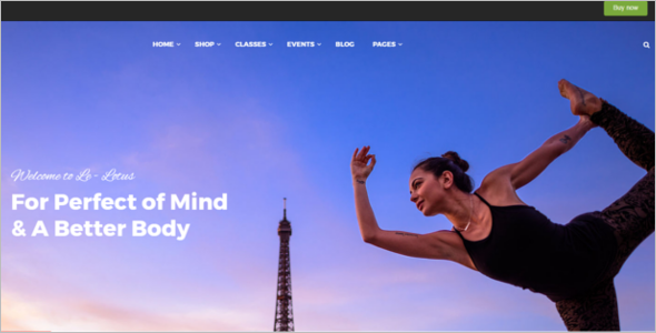 Health Fitness Blog Theme