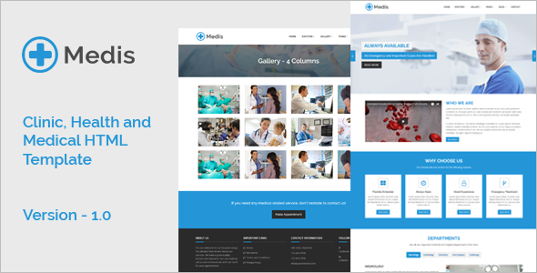 Health HTML Template