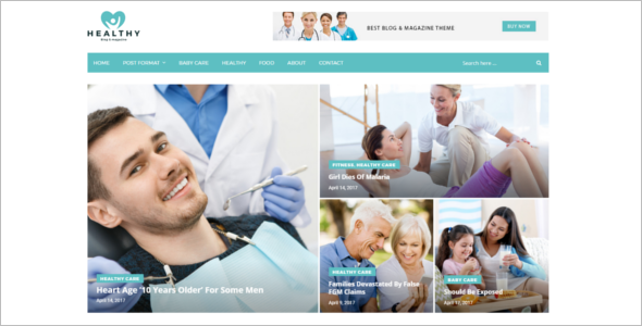 Health News Blog Theme