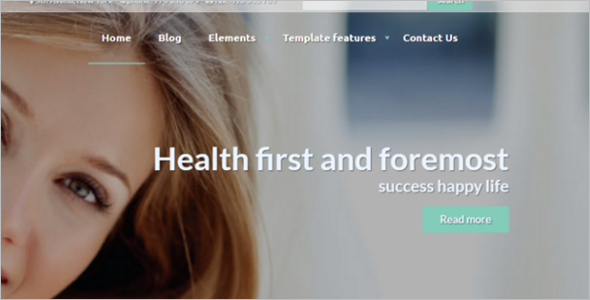 Helth Care Drupal Theme
