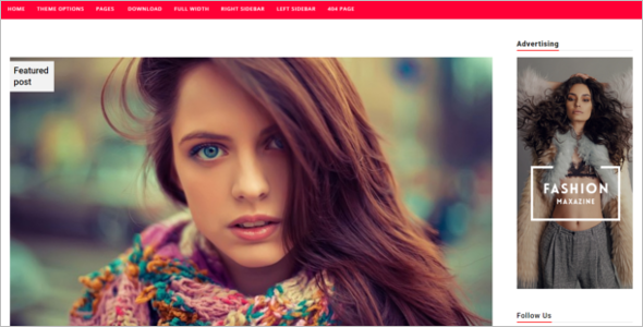 High Quilty Blog Template