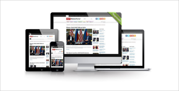 Hot News Portal Joomla Template