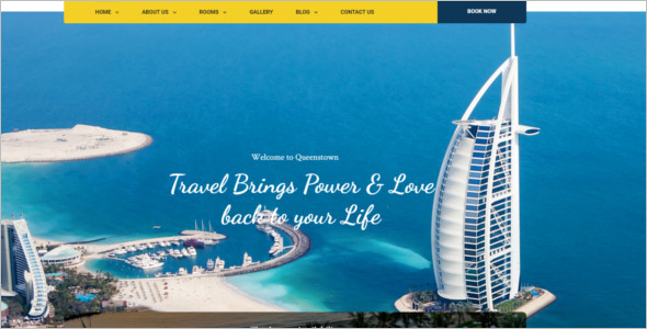 Hotel Accumulation HTML Template
