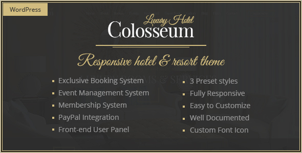 Hotel Reservation Bootstrap Theme
