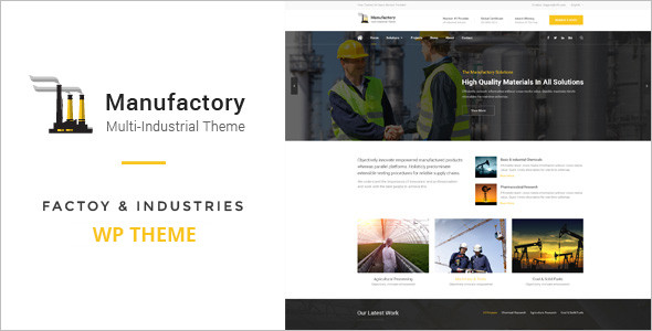 Industries WordPress Theme