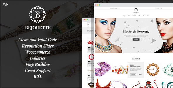 Jewelry Designer WordPress Theme