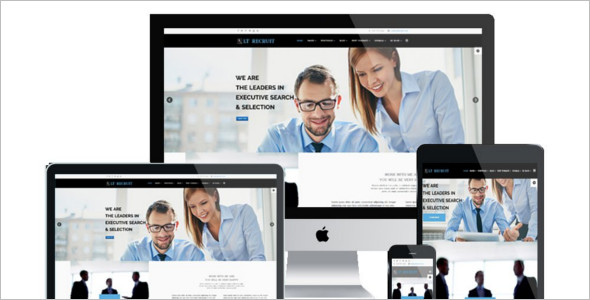 Job Board Company Joomla Theme