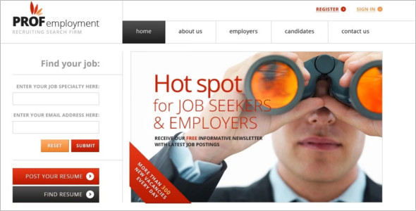 Job Board Emplaoye Joomla Theme