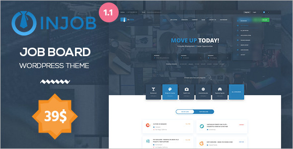 Job Board WordPress Responsive Theme