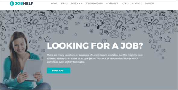 Job Carrier WordPress Theme