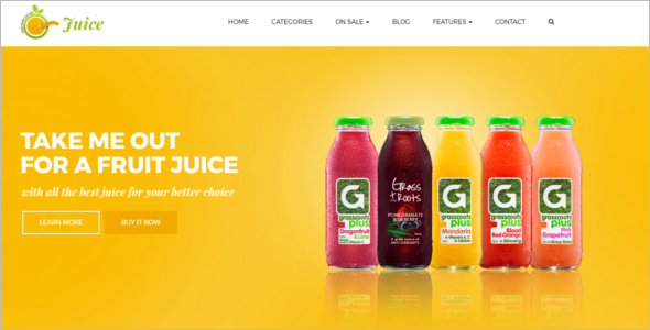 Juice Prestashop Template