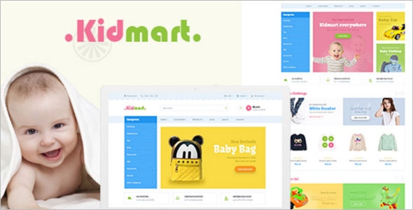 Kid Mart PrestaShop Theme