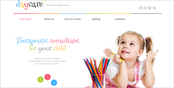 Kids Center WordPress Theme