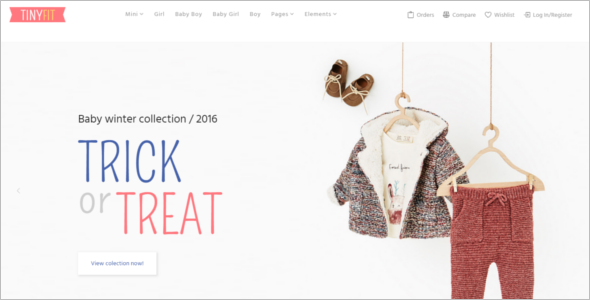 Kids Fashion WooCommerce Template