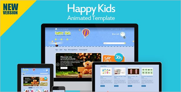 Kids Prestashop Theme