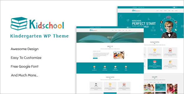 Kids School WordPress Theme