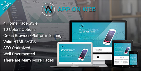 Landing Page Web Template