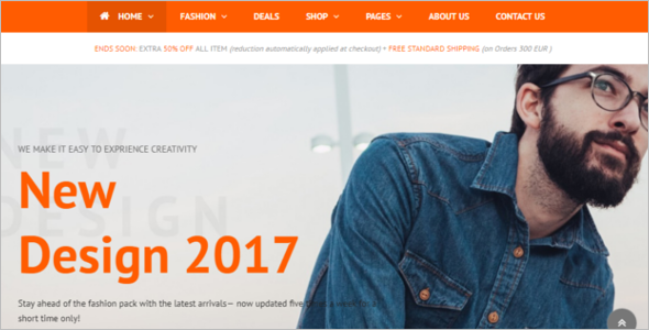 Latest Free Magento Theme