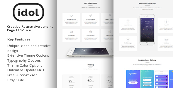 Latest Landing Page Template