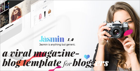Latest Magazine Blog Template