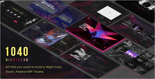 Latest Music WordPress Theme