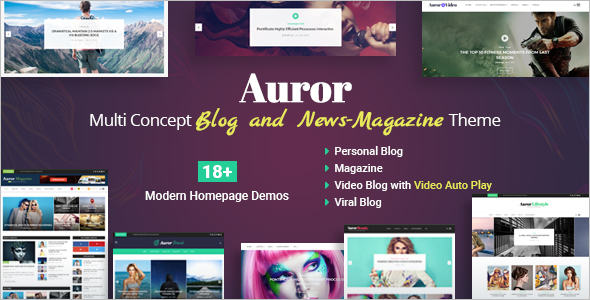 Latest News Blog Template