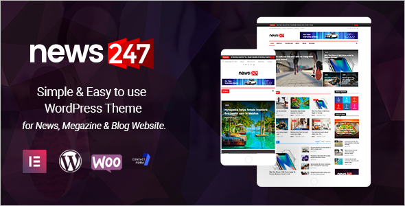 Latest News WordPress Theme